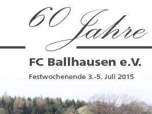 60 Jahre FC Ballhausen e.V.