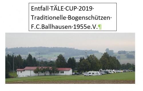 KEIN Täle Cup 2019