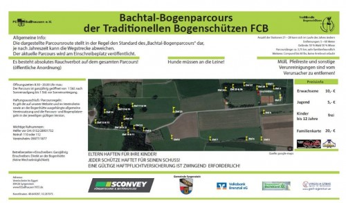 Bachtal-Bogenparcours