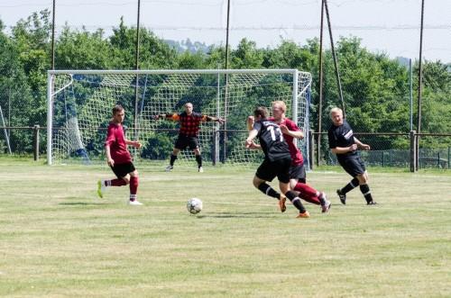 Überlebenskampf der aktiven Fussballmannschaft